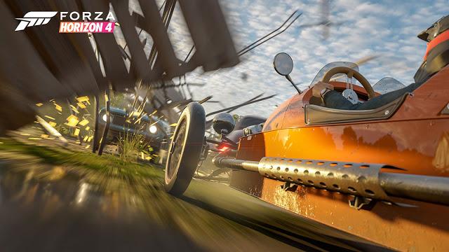 Новый час геймплея Forza Horizon 4: летний сезон, редакторы персонажей и автомобилей