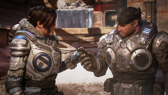 The Coalition показали нового врага из Gears 5