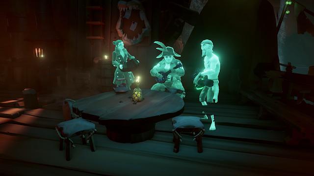 Студия Rare анонсировала еще три обновления Sea of Thieves в этом году