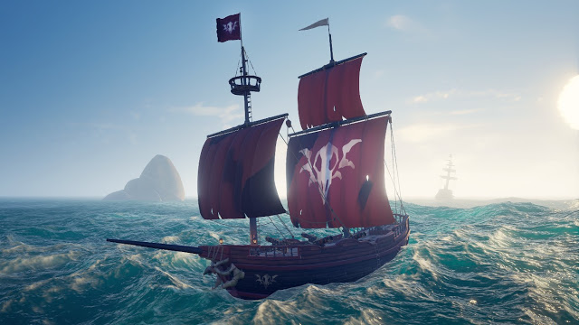 Крупное бесплатное контентное обновление «Проклятые паруса» стало доступно для Sea of Thieves