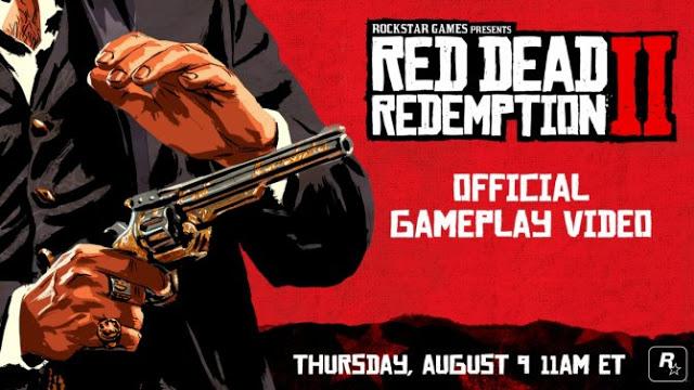 Разработчики Red Dead Redemption 2 опубликовали геймплейное видео