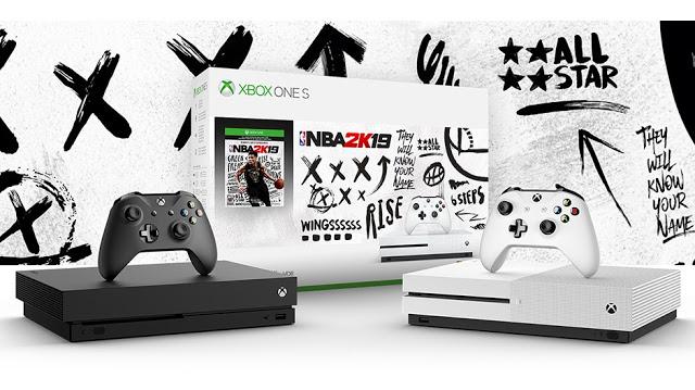 Microsoft анонсировала новые бандлы Xbox One S и Xbox One X