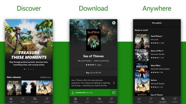 Microsoft объявила о запуске отдельного приложения для Xbox Game Pass