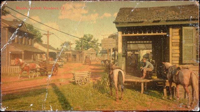 Разработчики Red Dead Redemption 2 рассказали о городах и достопримечательностях в игре