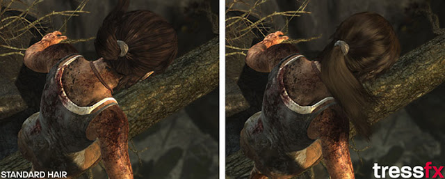 Новая технология AMD позволила создать реалистичные волосы в Tomb Raider