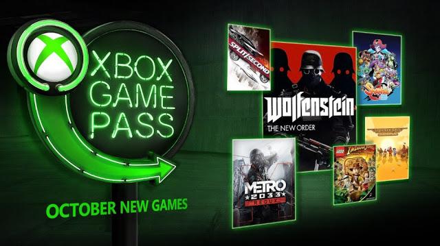 Объявлено, какие игры будут добавлены в Xbox Game Pass в октябре