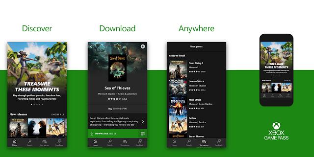 Microsoft тестирует приложение Xbox Game Pass для мобильных устройств