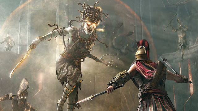 Сравнение производительности Assassin's Creed Odyssey на Xbox One, Playstation 4 и PC