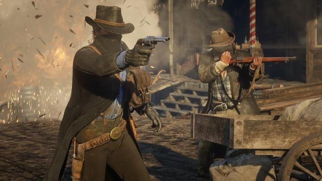 Новый геймплейный трейлер Red Dead Redemption 2 с перестрелками и ограблениями