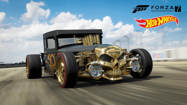 Бесплатные автомобили в Forza Motorsport 7 и Forza Horizon 4 в честь годовщины Hot Wheels