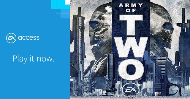 Army of Two стала доступна бесплатно в EA Access