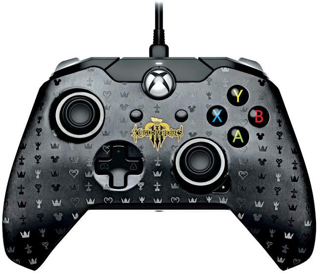 Анонсирован геймпад для Xbox One по игре Kingdom Hearts III
