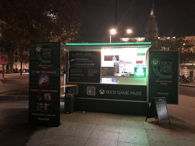 Киоски с едой в стиле Xbox Game Pass установили во Франции