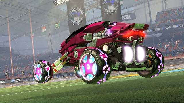 Обновление Rocket League для Xbox One X выйдет в декабре