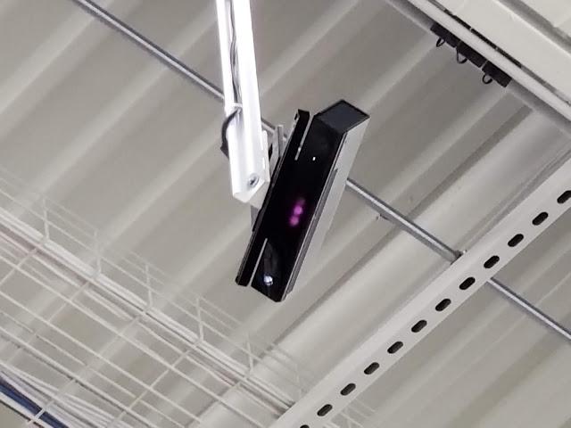 Сеть Walmart использует Kinect в качестве камер безопасности