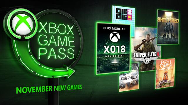 Анонсированы новые бесплатные игры по подписке Xbox Game Pass в ноябре