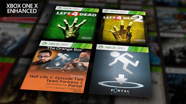 Игры Valve по обратной совместимости получили обновление под Xbox One X