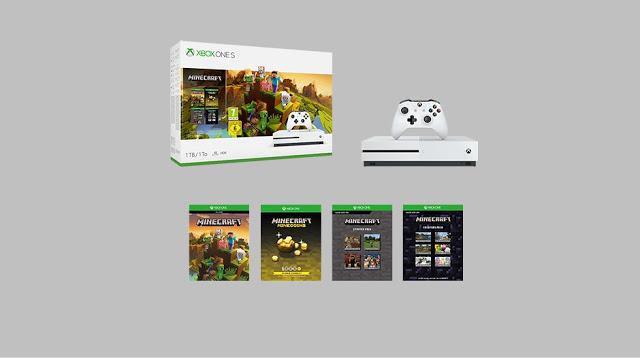 Microsoft анонсировала новый бандл Minecraft Creators с Xbox One S