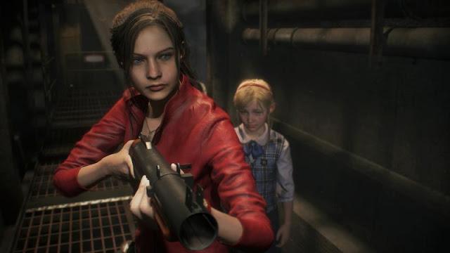30 минут нового геймплея Resident Evil 2 с участием Клэр Редфилд