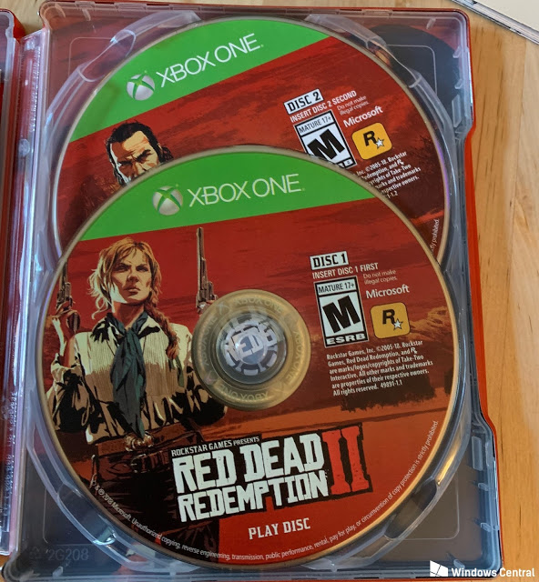 Red Dead Redemption 2 для Xbox One будет поставляться на двух дисках