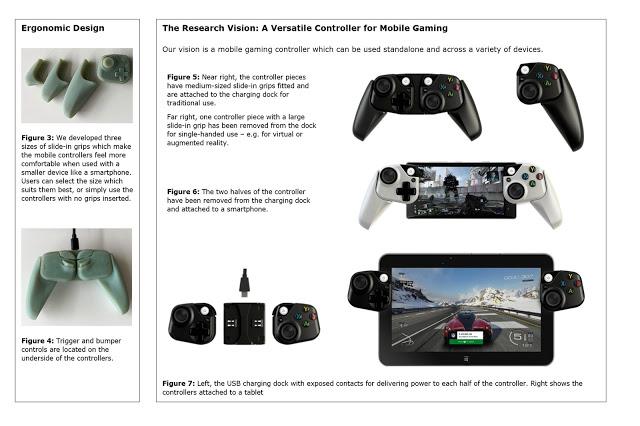 Microsoft разрабатывает модульный геймпад Xbox для планшетов и смартфонов