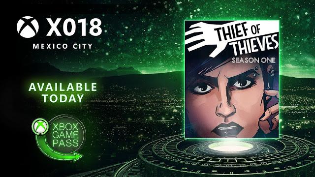 X018: Thief of Thieves доступна бесплатно по подписке Xbox Game Pass