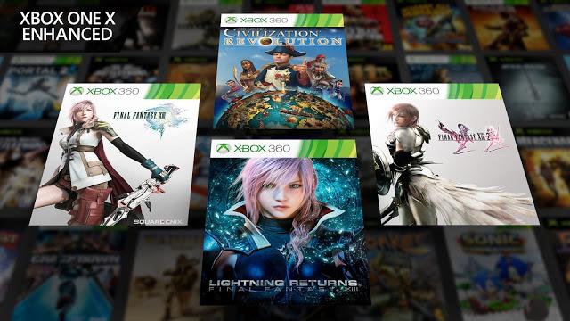 X018: 4 новых игры добавлены в программу совместимости с улучшениями под Xbox One X