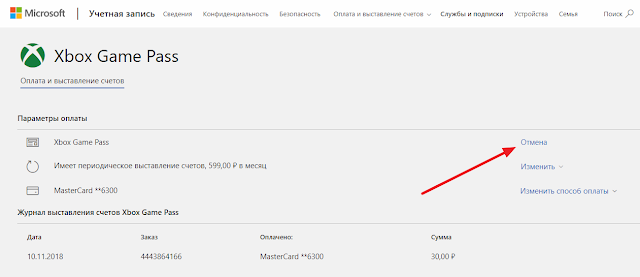 Инструкция: Как отказаться от продления подписки Xbox Game Pass