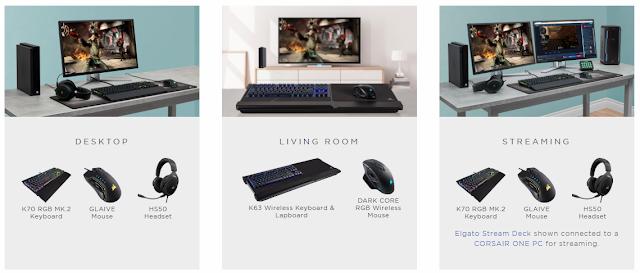 CORSAIR объявила о партнерстве с Microsoft в поддержке мыши и клавиатуры на Xbox One