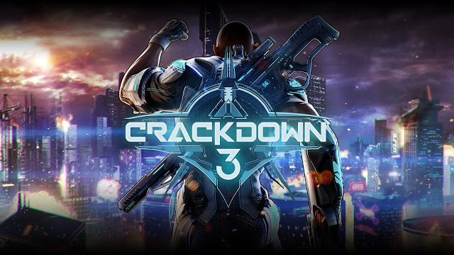 X018: Геймплей мультиплеера игры Crackdown 3 с полной разрушаемостью