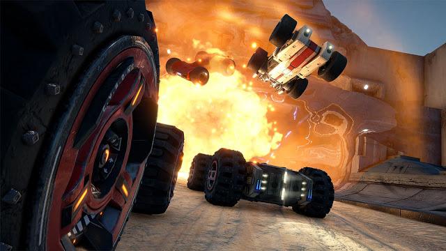 Игра GRIP: Combat Racing сразу после релиза стала доступна в Xbox Game Pass