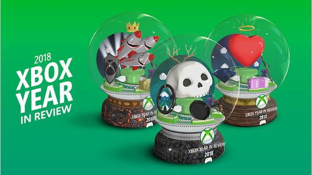 Microsoft подводит итоги года в Xbox Live и предлагает игрокам узнать свою статистику