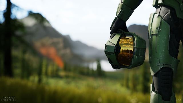 Разработчики Halo Infinite поделились концепт-артом игры