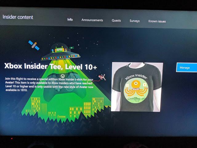 Бесплатную футболку для аватара могут получить инсайдеры с уровнем выше 10