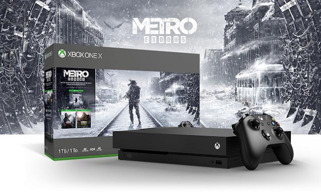 Анонсирован бандл Xbox One X с игрой Metro: Exodus и представлен новый трейлер