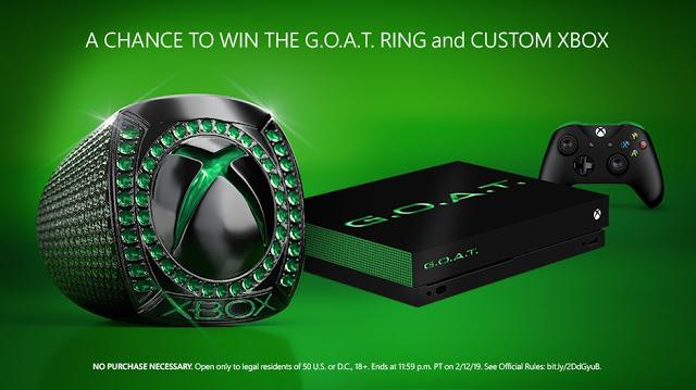 Microsoft разыгрывает призы по Xbox на сумму в 10 тысяч долларов, в том числе золотое кольцо