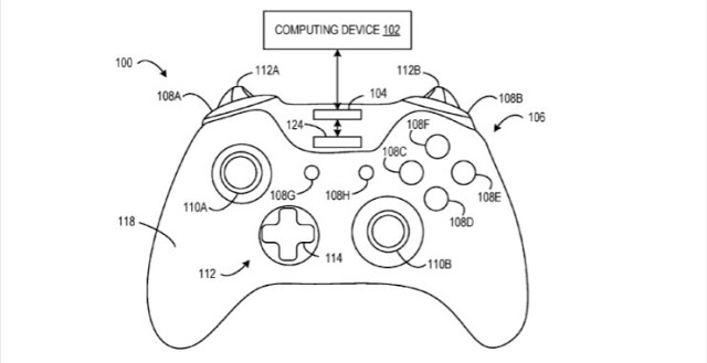 Microsoft запатентовала новые технологии для геймпада Xbox