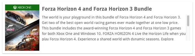 Microsoft выпустит бандл Forza Horizon 3 и Forza Horizon 4