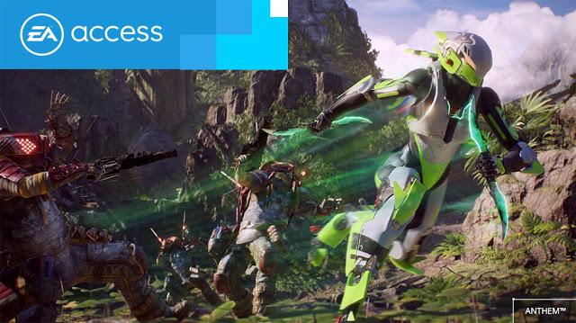 В Anthem можно играть по подписке EA Access уже сейчас