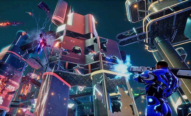 Мультиплеер Crackdown 3 идеально работает на обычном Xbox One и Xbox One X