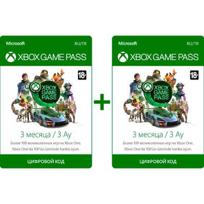 Распродажа Xbox Game Pass: 6 месяцев подписки по цене 3