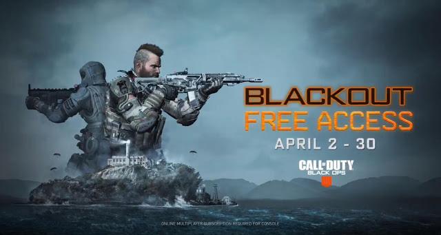 Режим королевская битва в Call of Duty Black Ops 4 доступен бесплатно всем в течение месяца