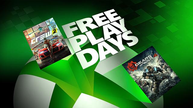 В Gears of War 4 и The Crew 2 можно играть бесплатно на Xbox One на этих выходных