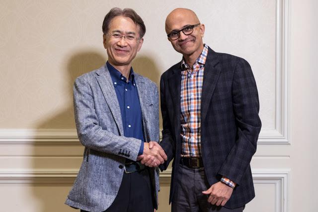 Sony и Microsoft объединились для развития облачных технологий в играх