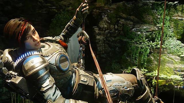 В сети появилось описание и подробности об игре Gears 5