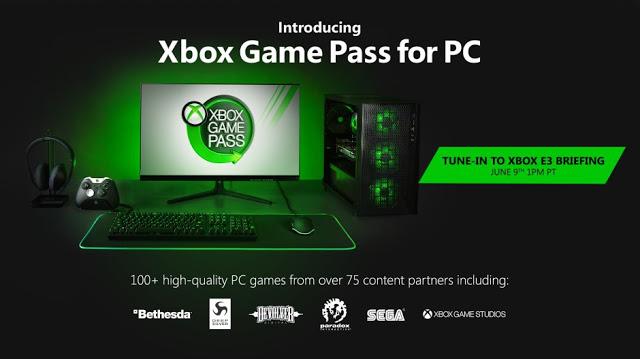 Официально: Xbox Game Pass выходит на PC с более чем 100 играми