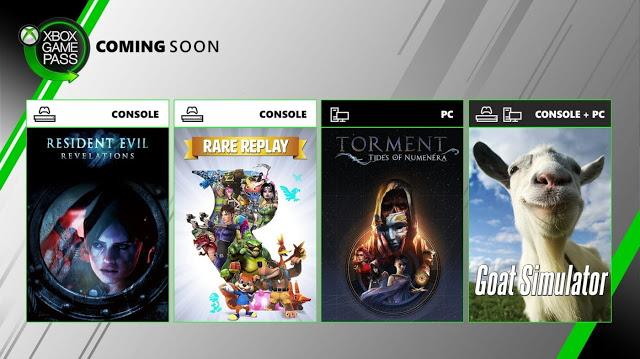 Анонсированы 3 дополнительные игры в Xbox Game Pass