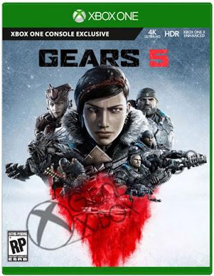 """""""Утекшая"""" ранее обложка Gears 5 подтверждена - разработчики показали ключевой арт игры"""
