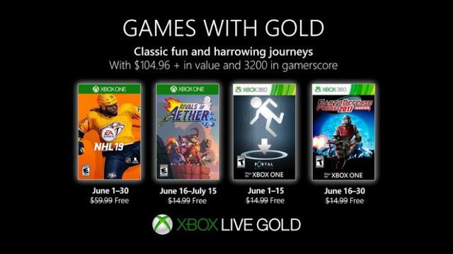Две игры стали доступны для бесплатной загрузки по Games With Gold