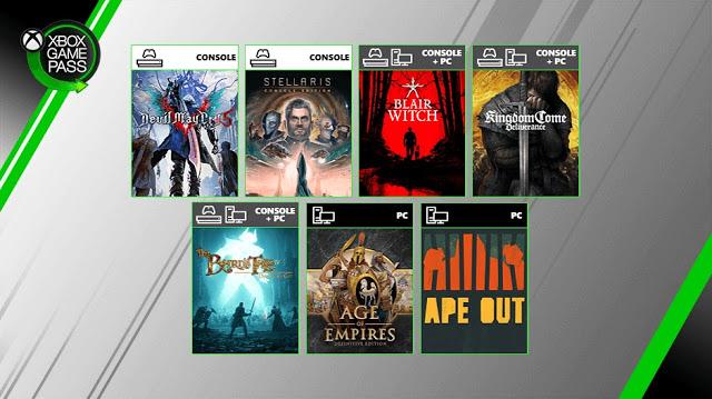 Xbox Inside: Анонсированы 6 новых игр по подписке Xbox Game Pass